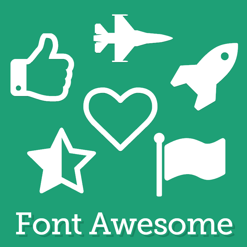 Animated Font-Awesome Icons for your website | HostOnNet com