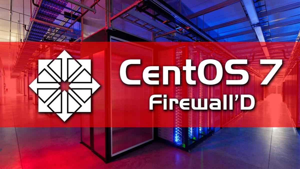 CentOS-7-FirewallD