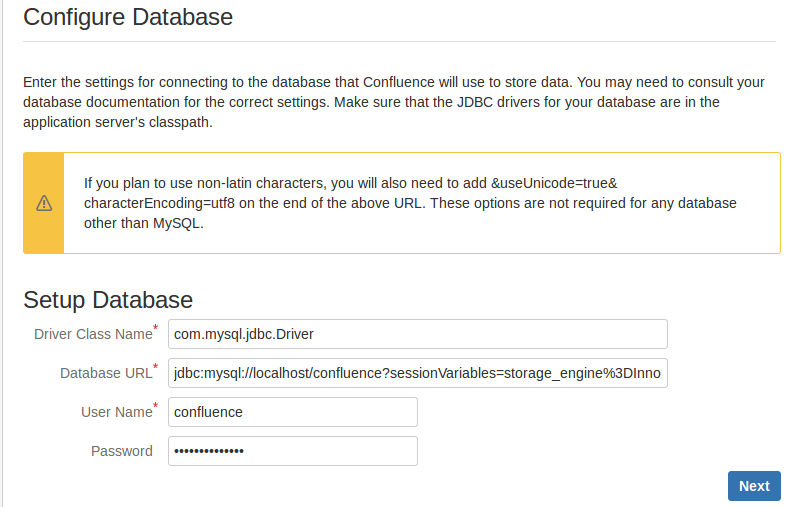 Installing JDBC Drivers for MySQL or Oracle Databases
