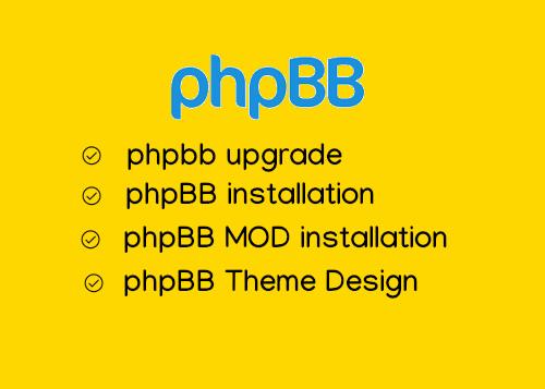 phpbb upgrade service